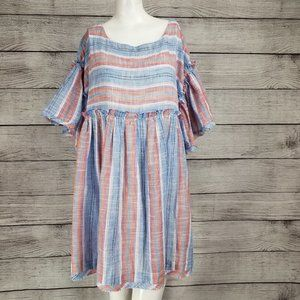 Free People S Summer Nights Oversized Mini Dress